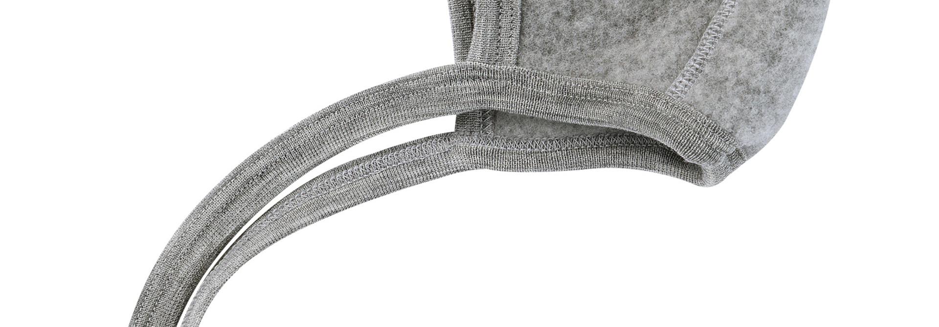 Baby Bonnet - Light Grey