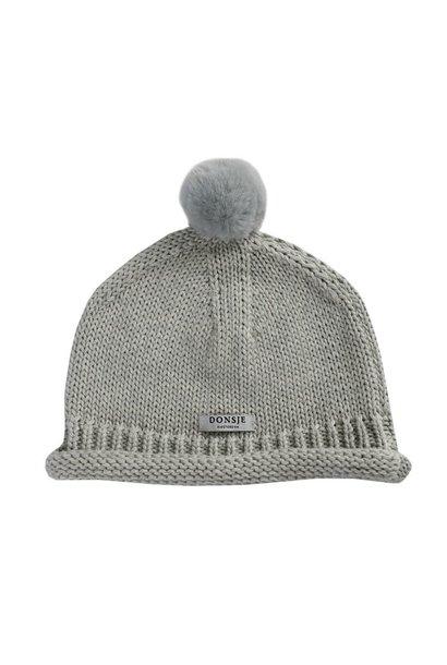 Mackle Hat - Soft Grey Melange