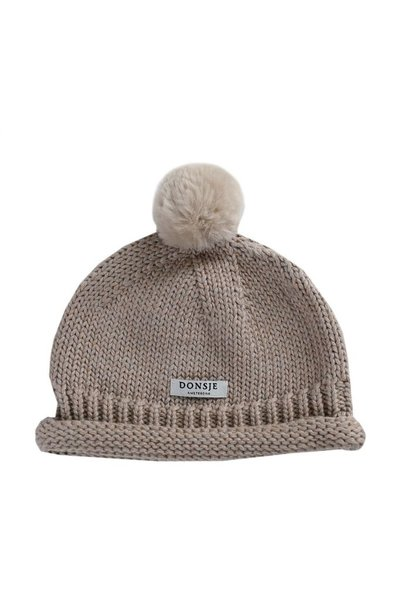 Mackle Hat - Grey Beige Melange