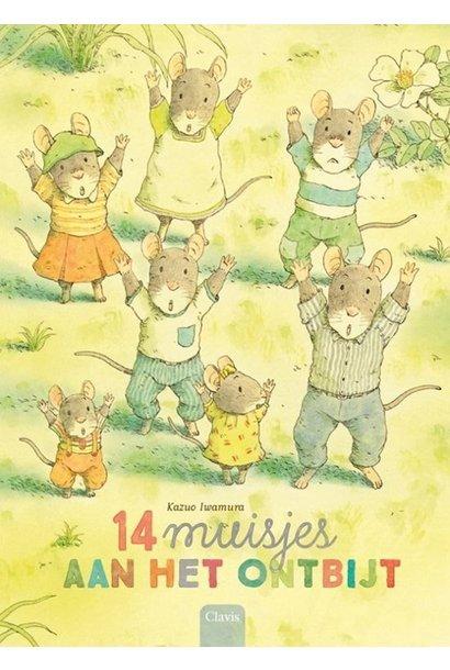14 muisjes aan het ontbijt. 3+