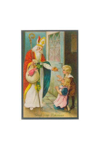 Sinterklaas - ansichtkaart