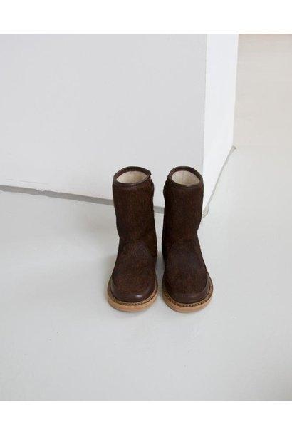 "Warm Lined boots Pony ""Du Beau"""