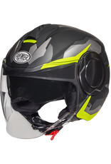 Premier Premier Cool BM Yellow Yellow Fluo Jet Helmet
