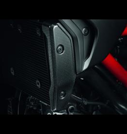 Ducati Ducati Hypermotard Hyperstrada Carbon Water Radiator Kit 96989921A