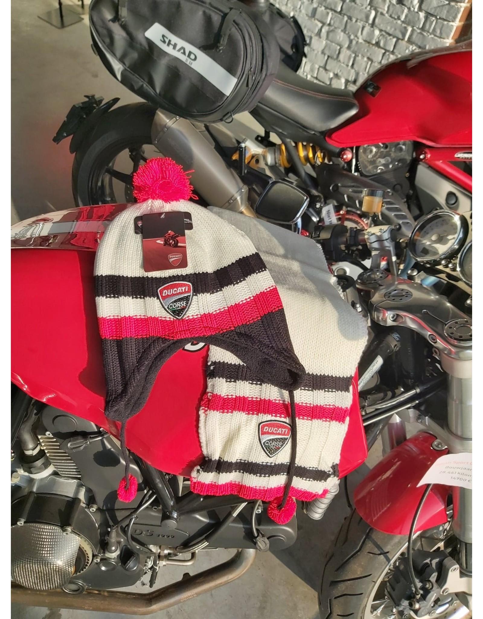 Ducati Ducati Kids set sjaal en muts