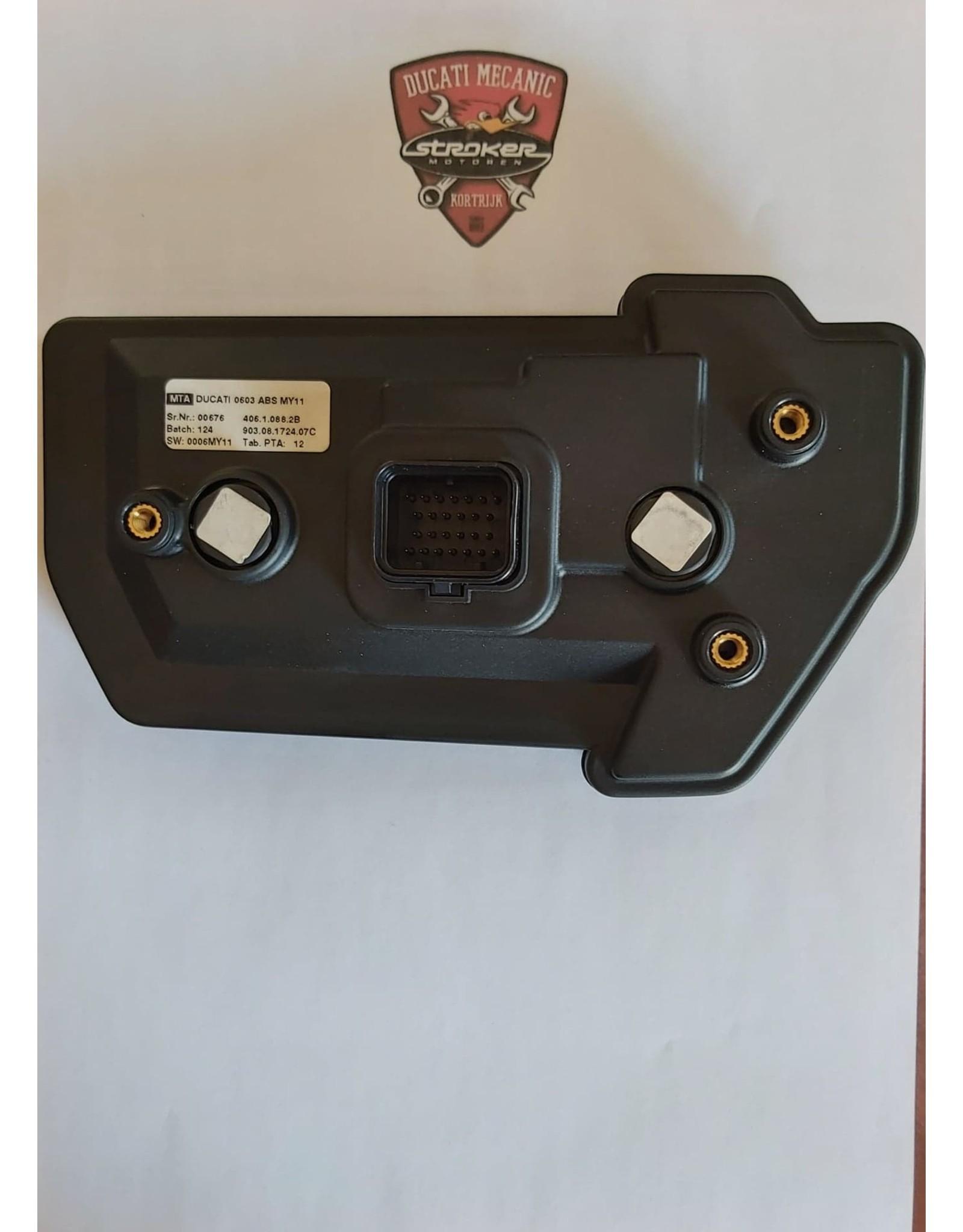 Ducati  DASHBOARD MTS1200 ABS 40610882B