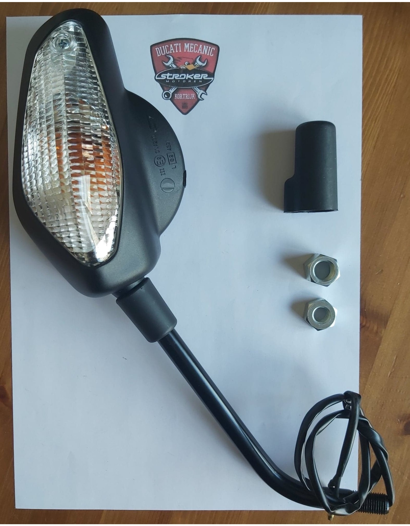 Ducati Ducati Mutistrada 620 1000 1100 LH Mirror 52320141C