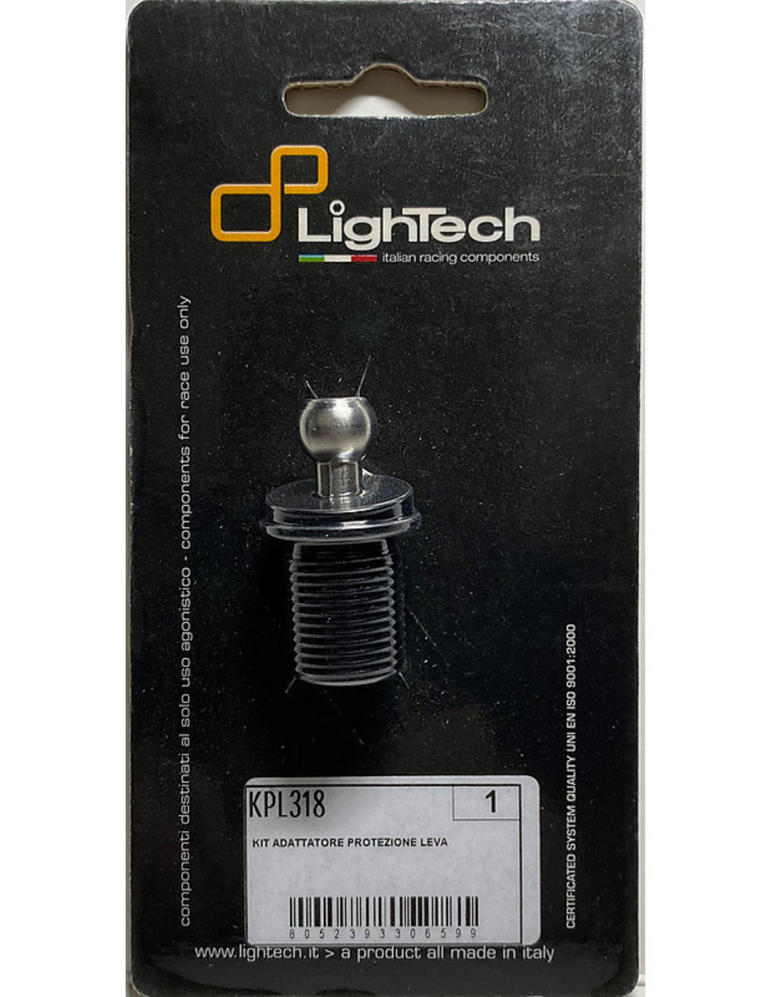 LIGHTECH LIGHTECH DUCATI LEVER PROTECTION FITTING ADAPTOR KPL318