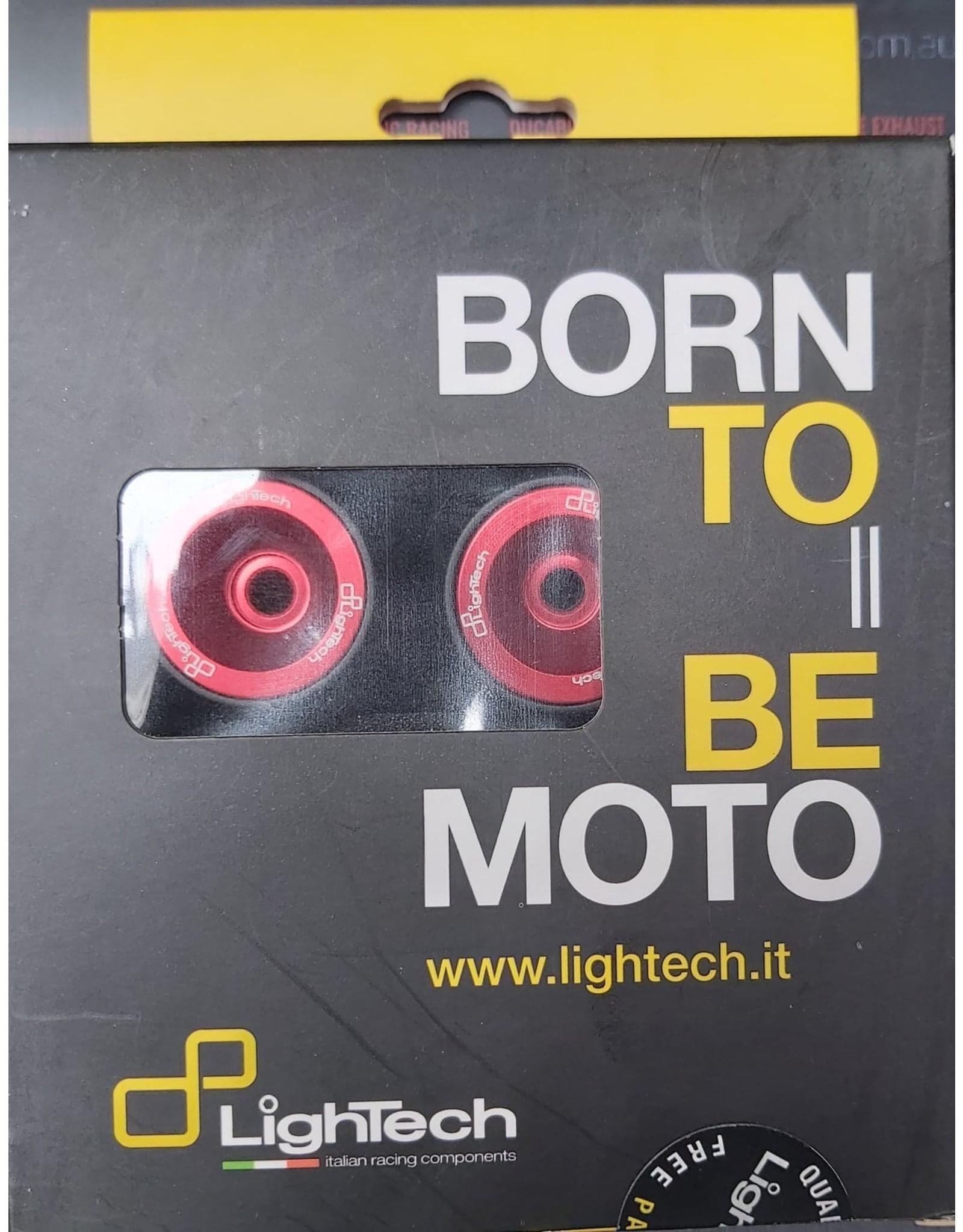 LIGHTECH LIGHTECH FRONT WHEEL AXLE PROTECTION FOR DUCATI SF 848 PART ARDU102