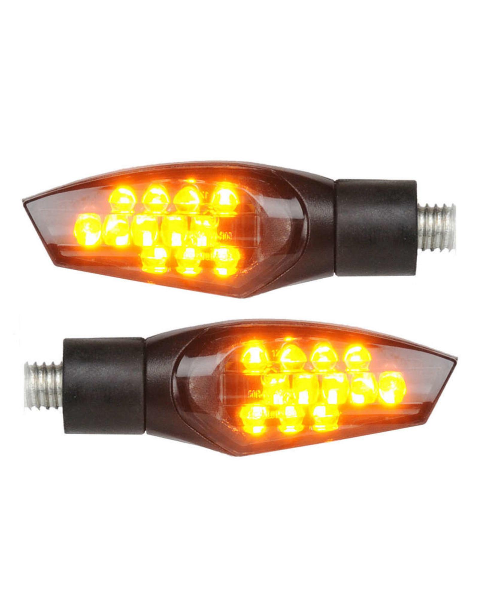LIGHTECH LIGHTECH FRE911NER INDICATORS LED ABS BLACK UNIVERSAL
