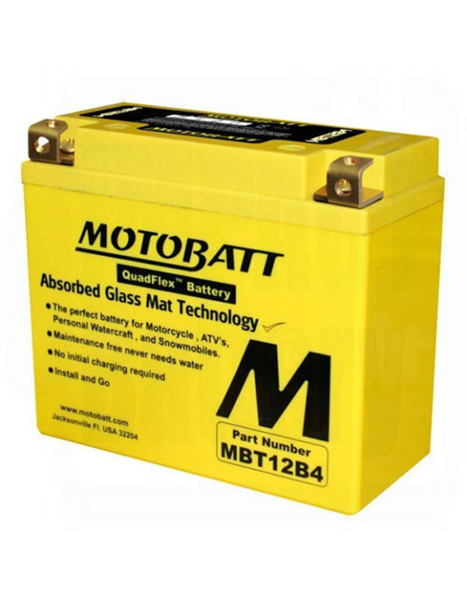 MOTOBATT MOTOBATT MBT12B4
