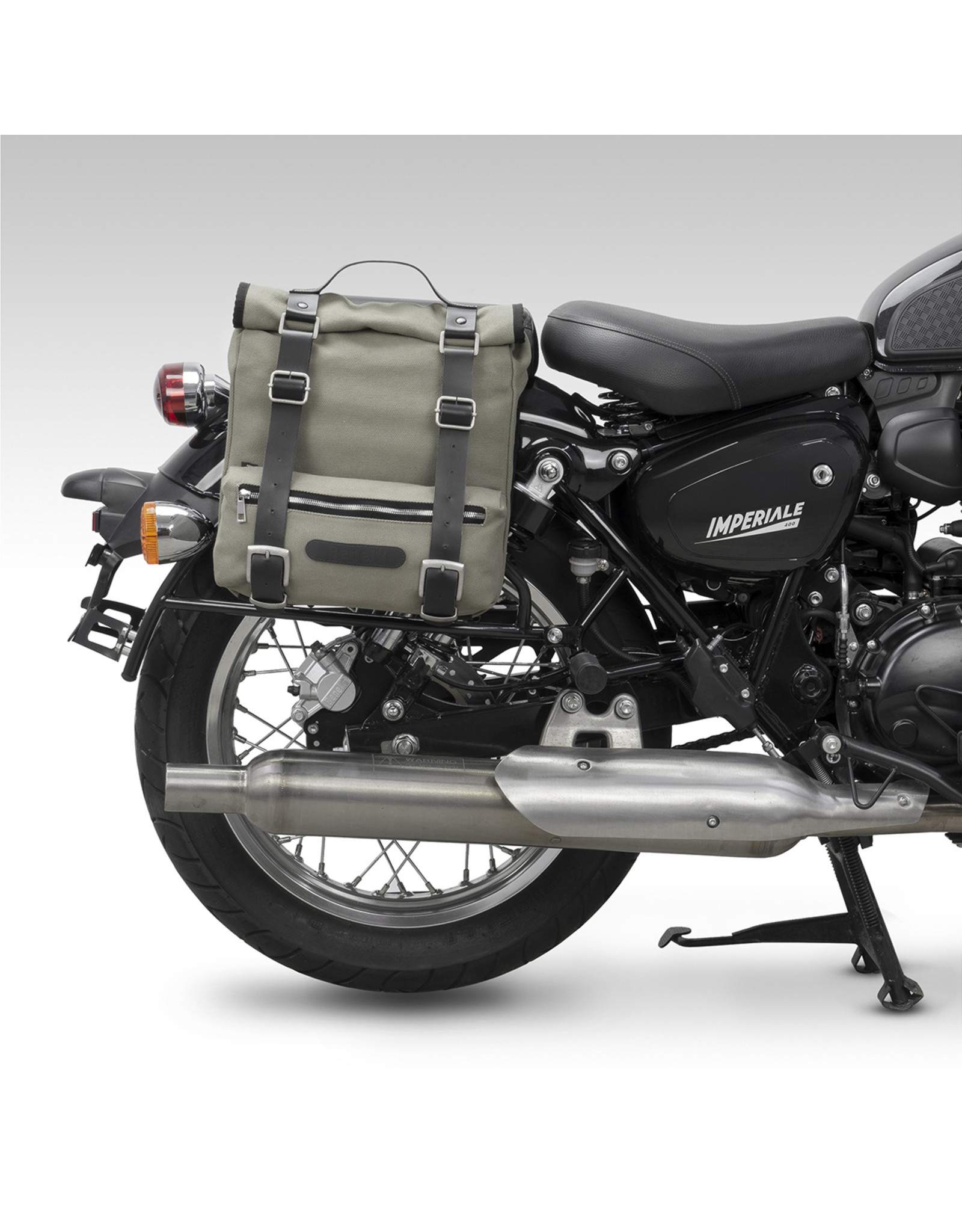 Benelli BENELLI CANVAS SIDE BAGS  + CARRIERS-BEIGE BEIMP400-CBG