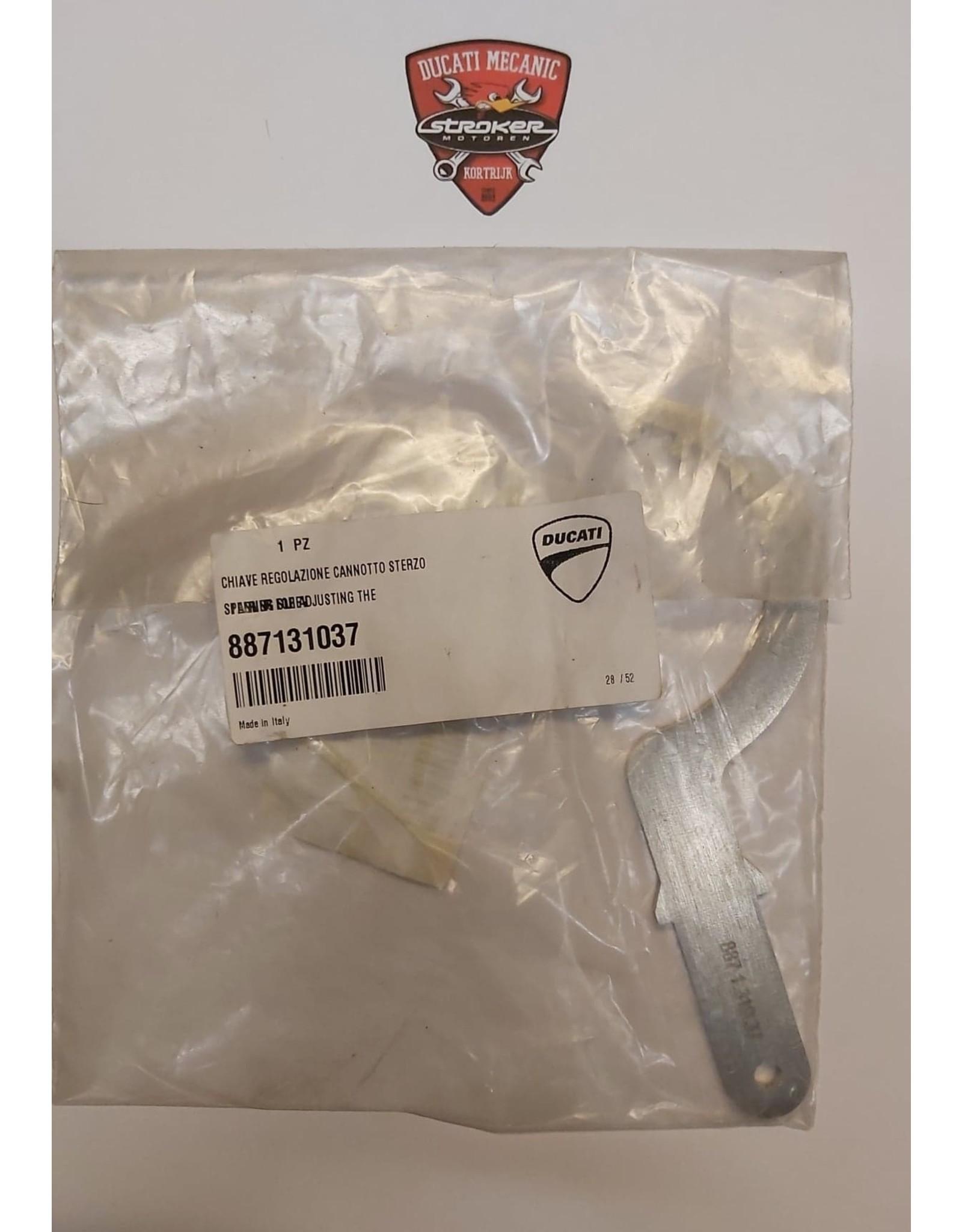 Ducati DUCATI SPANNER FOR ADJUSTING THE STEERING SLEEV 887131037