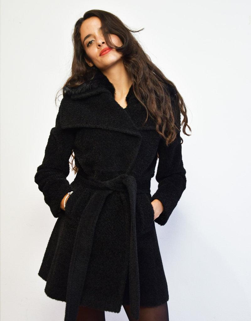 Itala Testino Suri Alpaca Wrap Coat