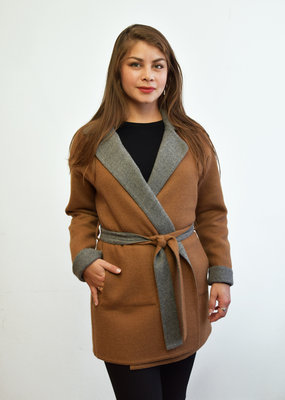 Solalpaca Coat with Belt