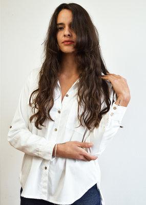 Khipu White Shirt
