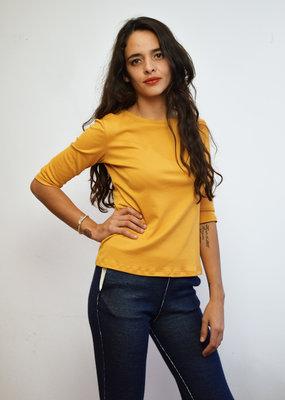 Khipu Yellow Basic 3/4 Shirt