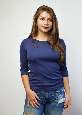 Khipu Navy Basic 3/4 Shirt