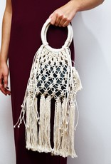 Saya Cotton Crocheted Clutch