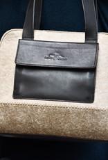 Sophie Ottaner Yura Leather and Felt Hand Bag