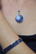Urin Huanca Blue and Silver Bracelet