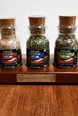 Cedar Wood Salt Tasters - Premium Collection