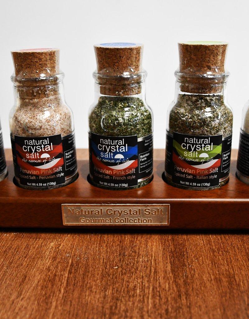 Laurie-Pujalt Cedar Wood Salt Tasters - Premium Collection