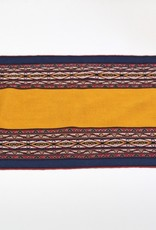 Khipu Small Yellow Traditional Woven Cloth