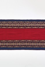 Khipu Small Dark Red Traditional Woven Cloth