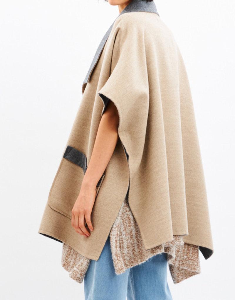 Saya Aremi Alpaca and Wool Cape