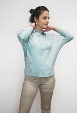 Sky Blue Jarumi Cotton Shirt