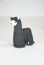 Grey Suri Alpaca Stuffed Animal