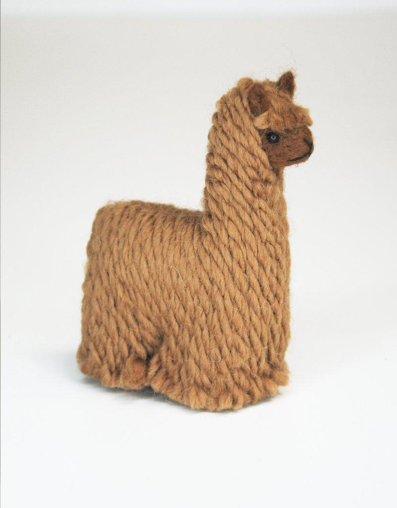 Brown Suri Alpaca Stuffed Animal