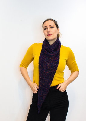 Triangle Knitted Cowl