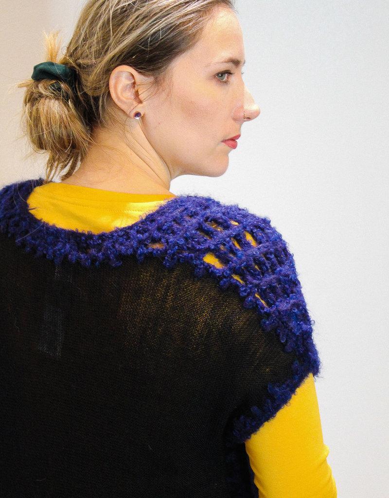 Sleeveless Baby Alpaca Sweater