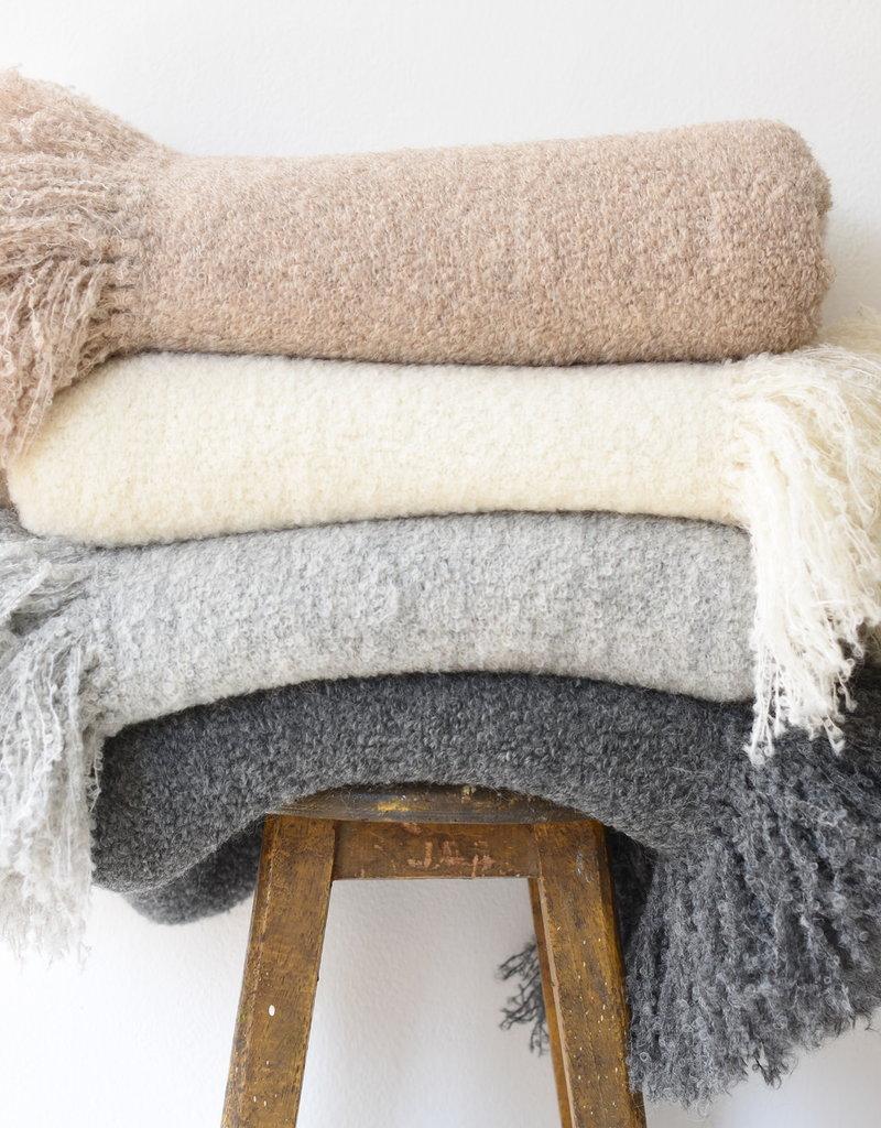 Mipaku Beige Munay Blanket