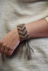 Saya Mixed Esperanza Woven Leather Bracelet