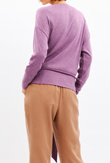 Saya Purple Asia Cotton Top