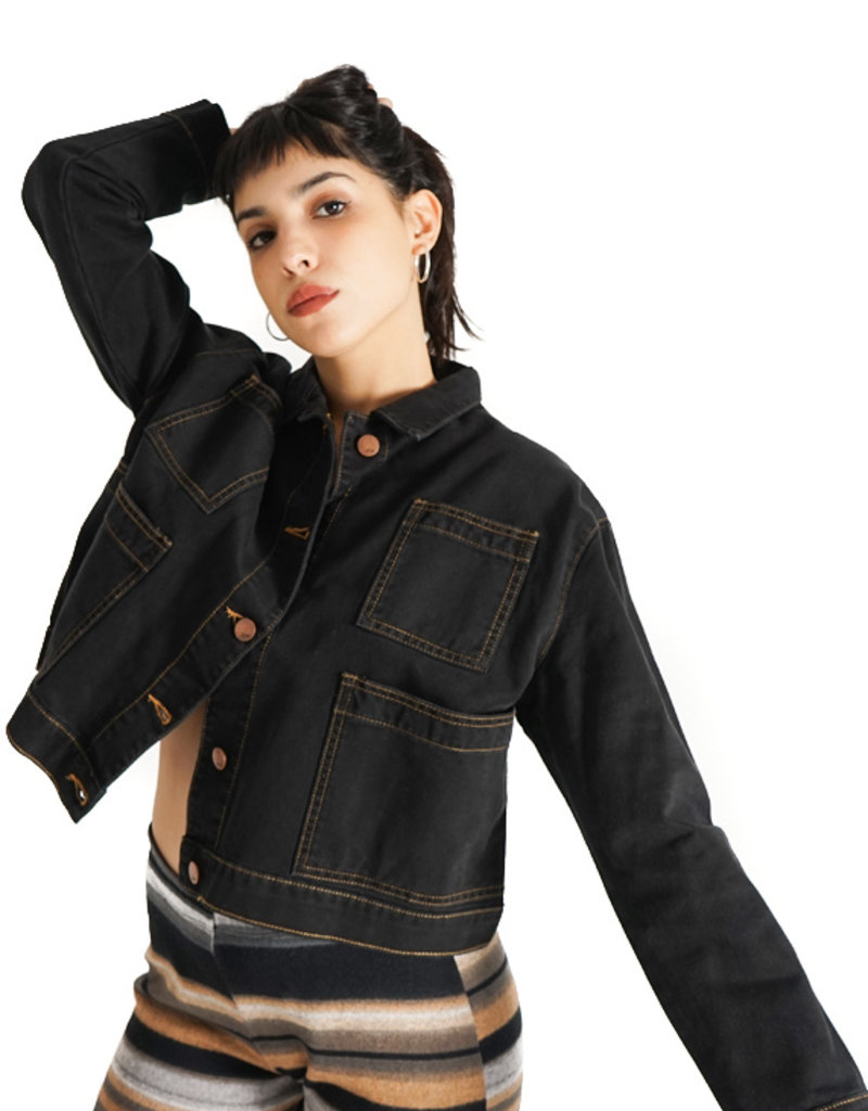 Nim Are Black Jacket