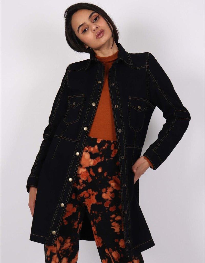 Nim Black Vilma Denim Dress