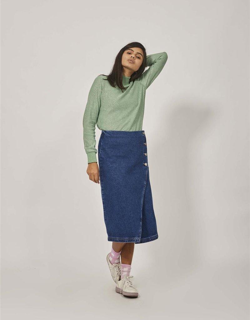 Nim Blue Denim Skirt Beli