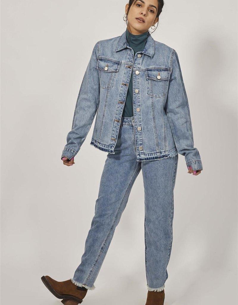 Nim Blue Joe Denim Cotton Jacket
