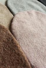 Norgäte Light Grey Felted Baby Alpaca Beanies