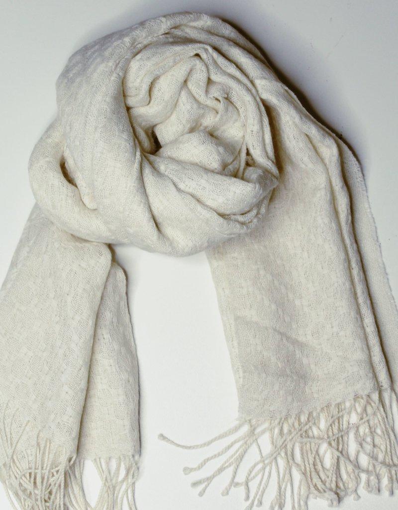 Alpaca and Silk Scarves