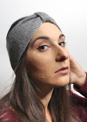 Norgäte Light Grey Baby Alpaca Headband