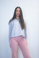 Nim Grey Grapi Pima Cotton Shirt