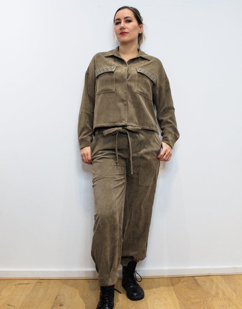 Green Seline Pants