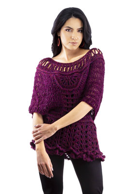 Cherry Knitted Tunic