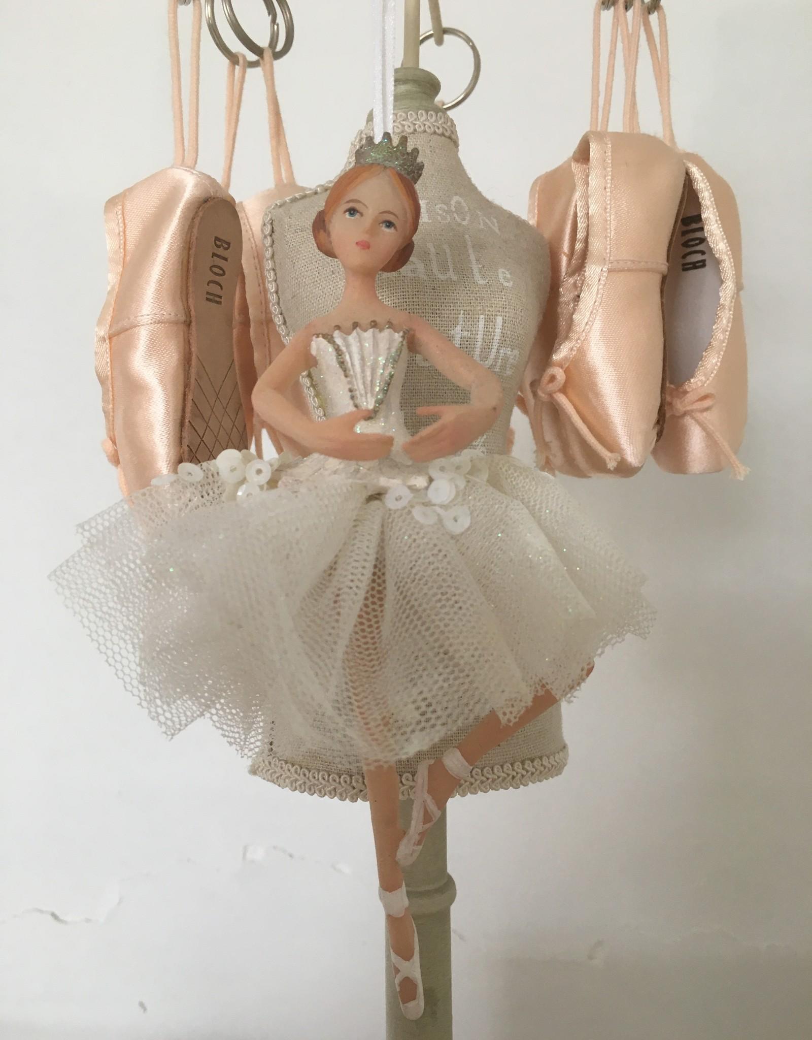 Goodwill Goodwill porseleinen ballerina hanger wit