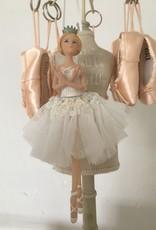 Goodwill Goodwill porseleinen ballerina hanger wit kroon